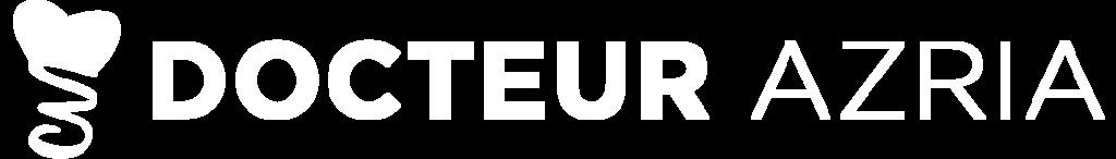 Logo blanc du Dr David Azria